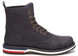 Moncler New Vancouver Suede Boots - Mens - Navy Multi