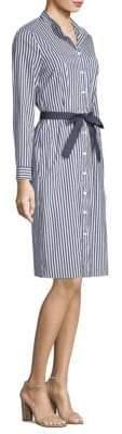 Peserico Striped Shirt Dress
