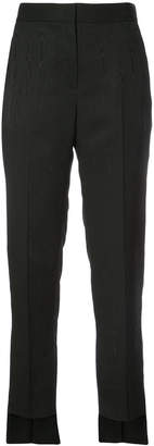 Rosetta Getty straight-leg cropped trousers