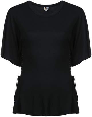 Atelier Jean draped style T-shirt
