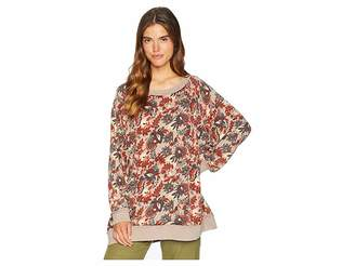 Free People Go On Get Floral Top