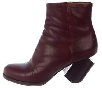 Maison Margiela Leather Ankle Boots Leather Ankle Boots