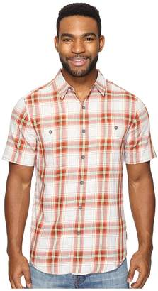 Royal Robbins Point Reyes Plaid Short Sleeve Shirt Men's Short Sleeve Button Up