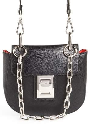 Steve Madden Kaia Draped Chain Faux Leather Crossbody Bag