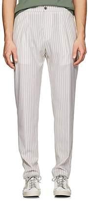Marco Pescarolo Men's Wool Basket-Weave Trousers
