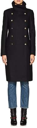Barneys New York Women's Wool-Blend Long Double-Breasted Coat