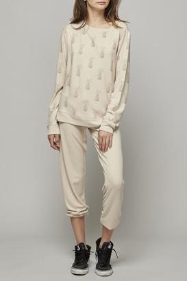 All Things Fabulous Single Rabbit Cozy Sweater $140 thestylecure.com