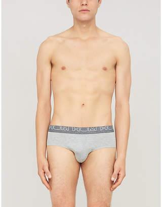 Hom Slim-fit stretch-jersey brief