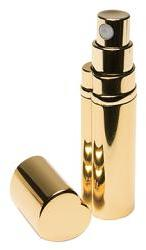 Gold Heart-Shaped Atomizer by Kingsley