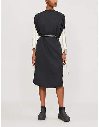 MM6 MAISON MARGIELA Belted woven dress