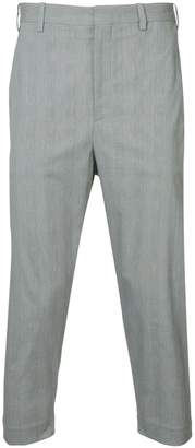 Neil Barrett cropped suit trousers