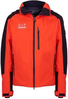 Giorgio Armani Ea7 Logo Ski Jacket