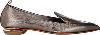 Nicholas Kirkwood Women's Beya Leather Loafers - Pewter