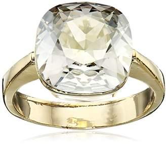 Cara Swarovski Crystal Square Stone Ring