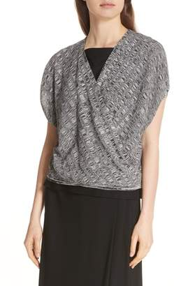 Eileen Fisher Surplice Top