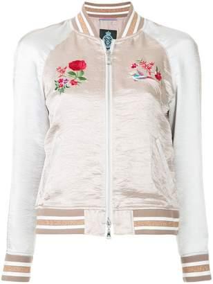 GUILD PRIME embroidered bomber jacket