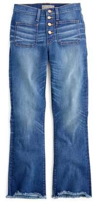 J.Crew Point Sur High Rise Demi Bootcut Jeans