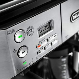 De'Longhi Delonghi DeLonghi Combination Pump Espresso and 10-Cup Drip Coffee Machine with Advanced Cappuccino System