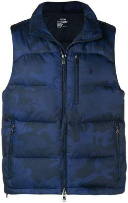 Polo Ralph Lauren sleeveless padded gilet