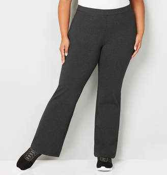 Avenue Pima Cotton Bootcut Pant