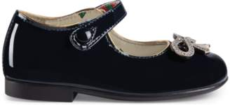 Gucci Toddler patent ballet flat with bow