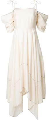 Rejina Pyo cold-shoulder flared dress