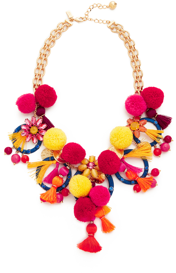 Kate Spade Kate Spade New York Pretty Poms Statement Necklace