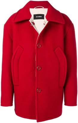 Raf Simons oversized button-up jacket