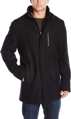 Calvin Klein Men's Wool Car Coat