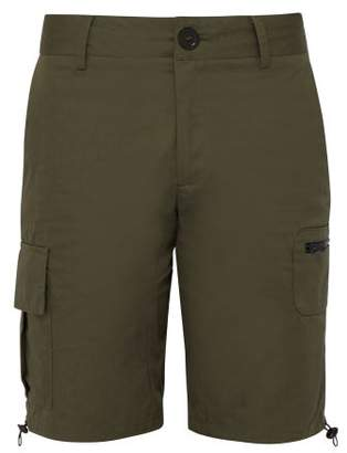 Wales Bonner Cotton Twill Cargo Shorts - Mens - Khaki