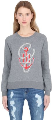 Tommy X Gigi Anchor & Rope Sweatshirt $95 thestylecure.com