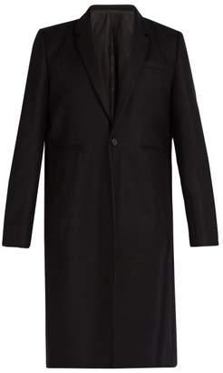 Undercover - Reflective Trimmed Wool Overcoat - Mens - Black