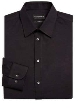 Emporio Armani Basic Stretch Modern-Fit Dress Shirt