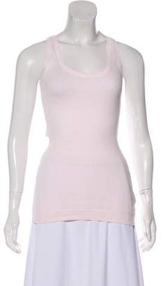 Burberry Knit Sleeveless T-Shirt