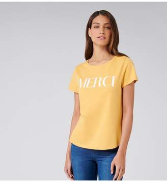 Ever New Petra Merci Slogan Tee