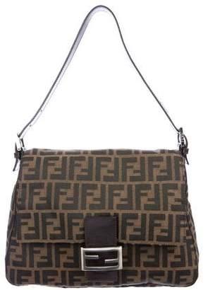 6632a296e0e0 Fendi Zucca Mama Forever Shoulder Bag