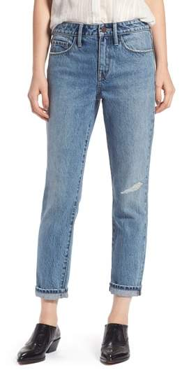 Treasure & Bond Grant High Waist Ankle Boyfriend Jeans