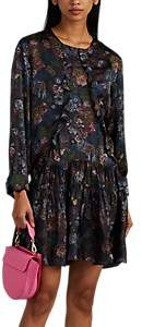 IRO Women's Ciamo Floral Silk Dress Size 36