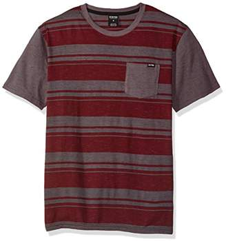 Zoo York Men's Hydrogen Short Sleeve Crew