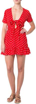 Glamorous Spotty Love Dress