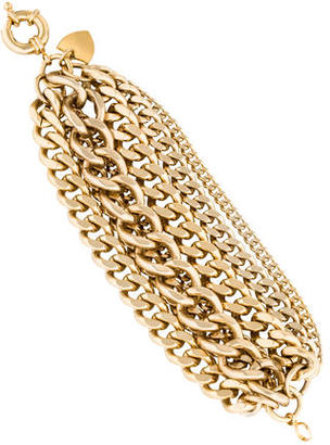 Giles & Brother Multi Strand Chain Link Bracelet $75 thestylecure.com