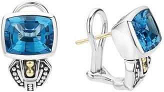 Women's Lagos 'Caviar Color' Semiprecious Stone Stud Earrings $795 thestylecure.com
