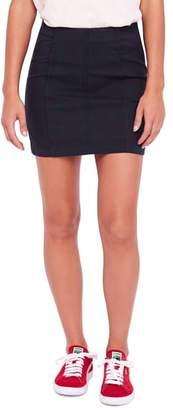 Free People Modern Femme Plaid Miniskirt