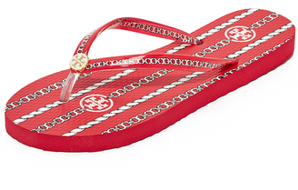 Tory Burch Thin Flip Flops $50 thestylecure.com