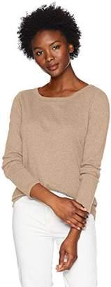Pendleton Women's Petite Long Sleeve Cotton Rib Crew Tee