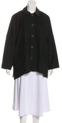 eskandar Corduroy Button-Up Jacket