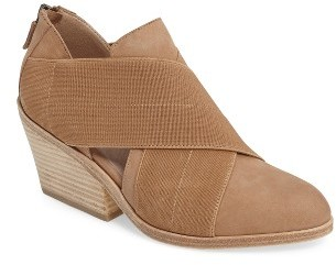 Women's Eileen Fisher Emes Cross Band Bootie $265 thestylecure.com