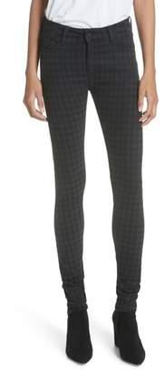 BROCKENBOW Emma Pied de Poule Skinny Jeans