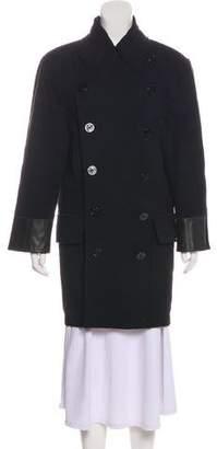 Jean Paul Gaultier Wool Double-Breasted Coat
