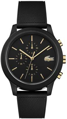 Lacoste 12.12 Chronograph Silicone Strap Watch, 44mm